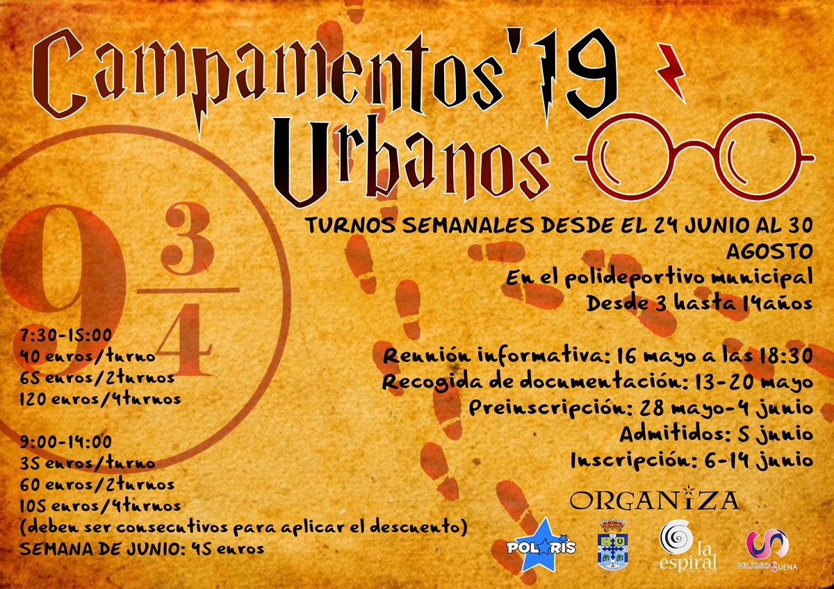 Cartel Campas urbanos 19