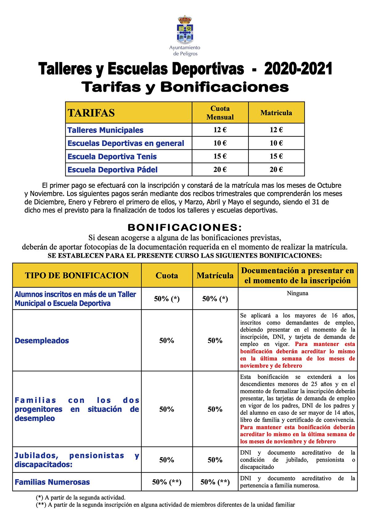 INFO BONIFICACIONES TALLERES Y ESCUELAS DEPORTIVAS-2