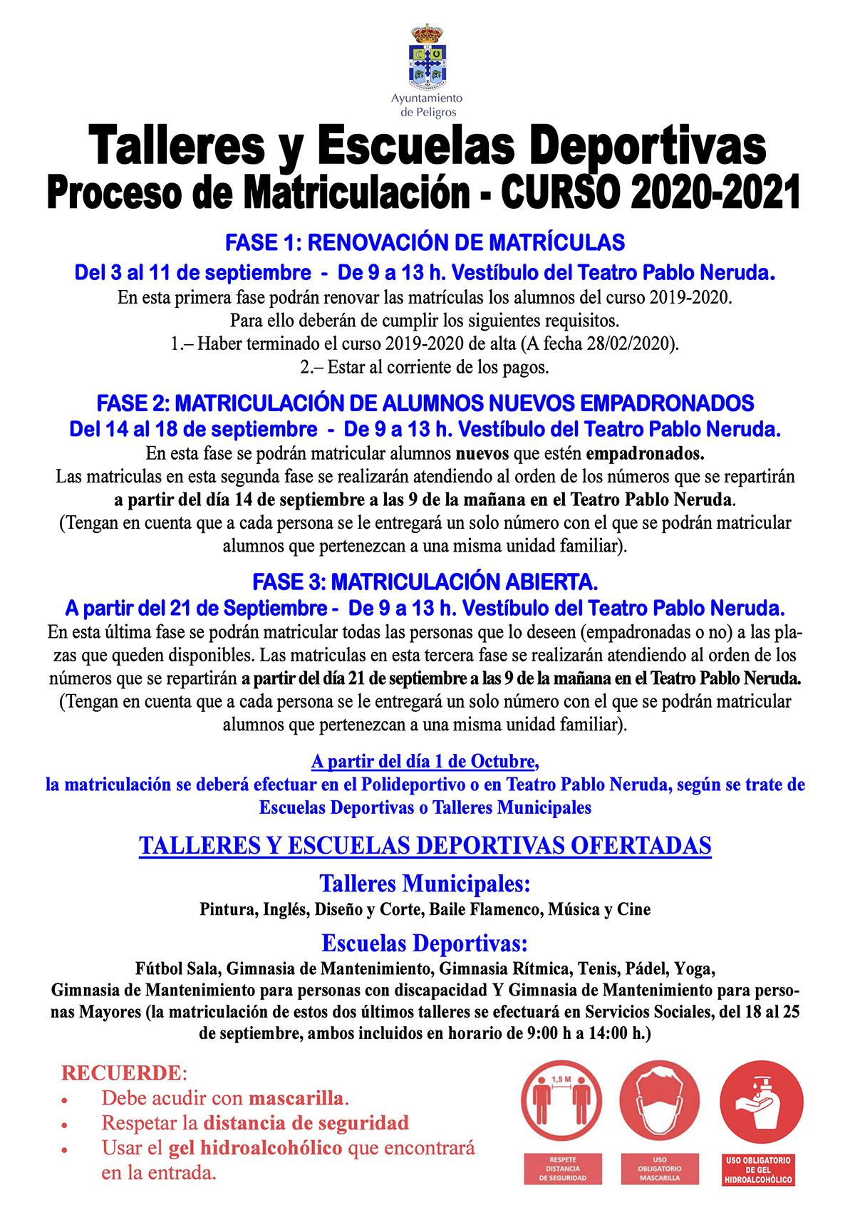 INFO MATRICULACIONES TALLERES Y ESCUELAS DEPORTIVAS-2